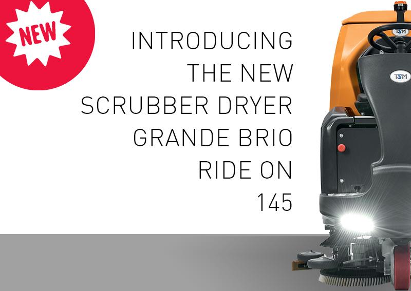 Hooper Services - TSM Cleaning Machine - Scrubber Dryer Grande Brio Ride On 145