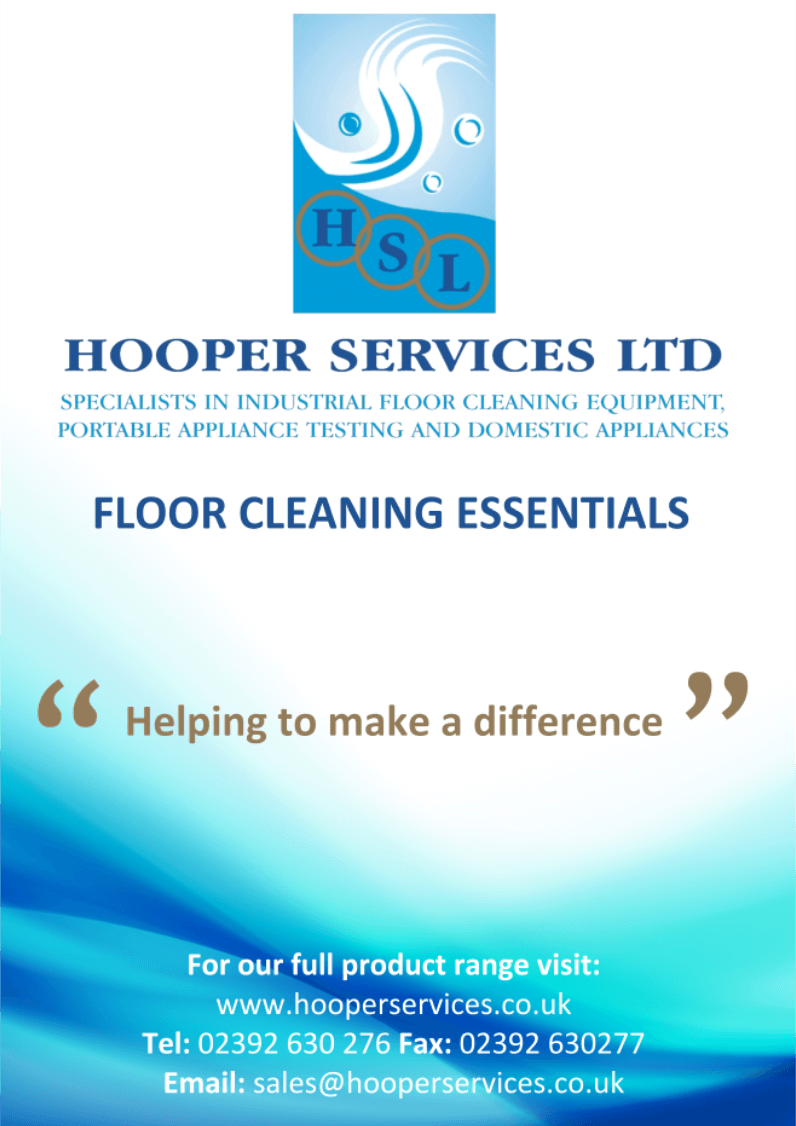 Hooper Services Floor Cleaning Essentials Brochure